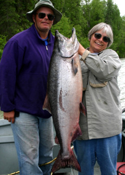 Salmon Fishing Guide Andy Couch